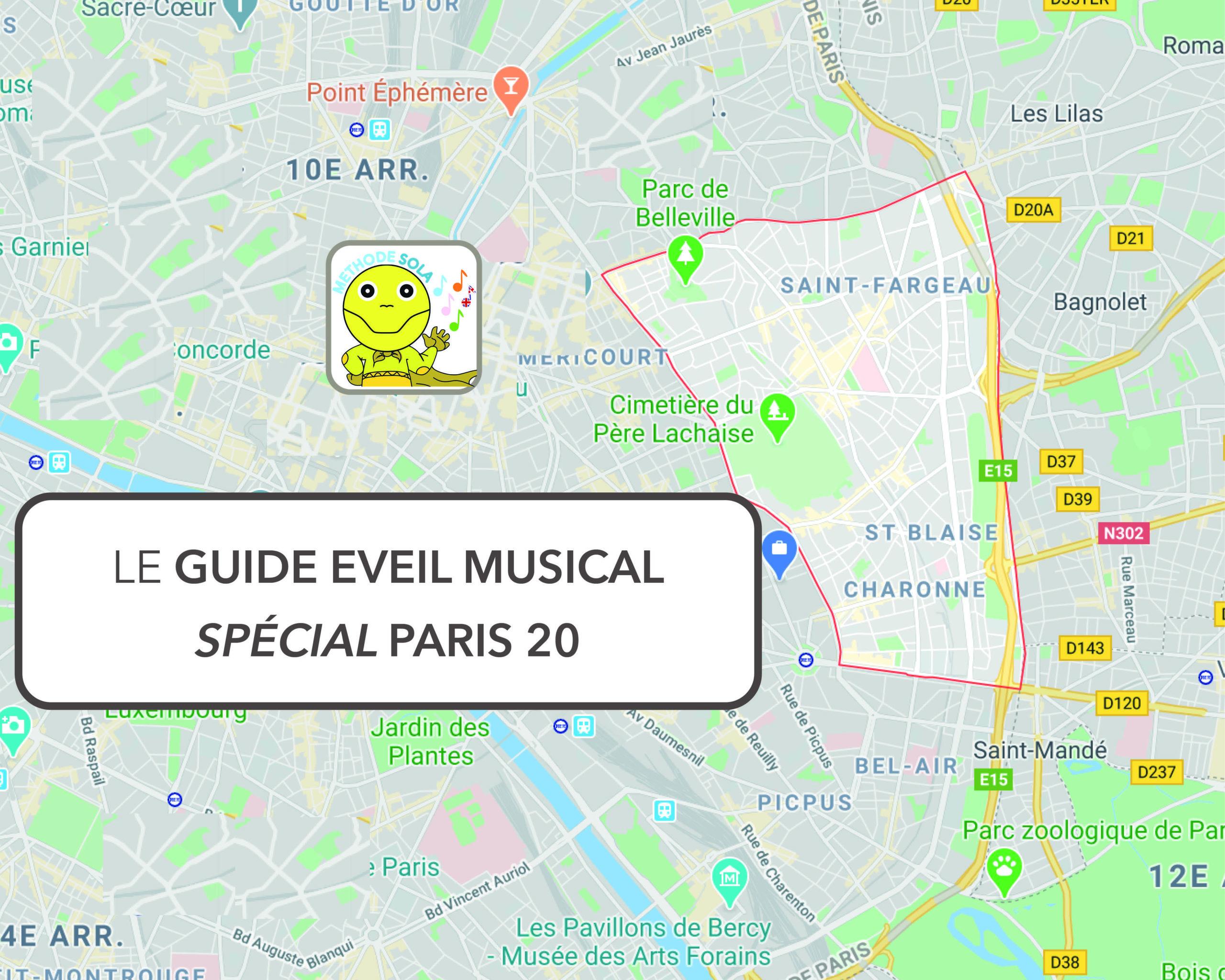Tout savoir sur les ateliers d'eveil musical paris 20